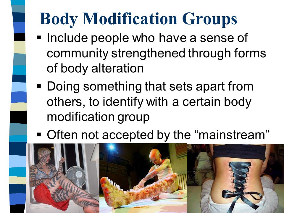 Body Modification Groups