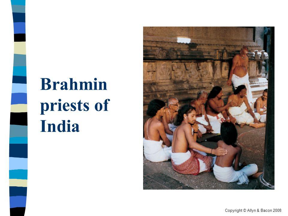 Brahmin priests of India