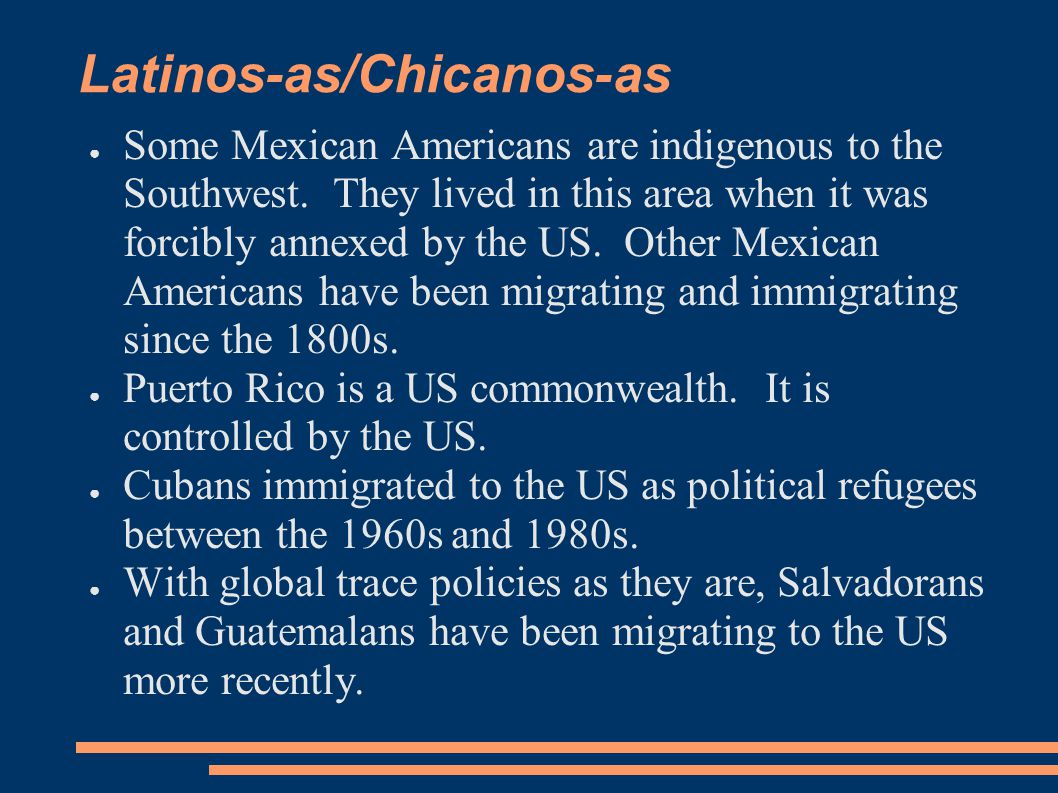 Latinos-as/Chicanos-as