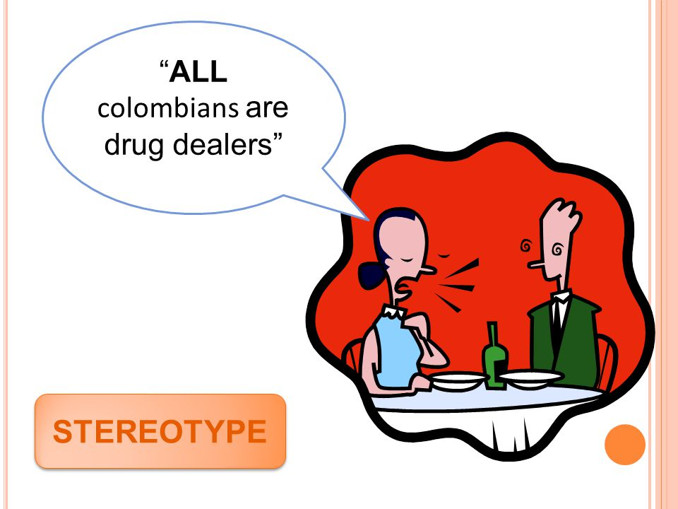 ALL colombians are drug dealers