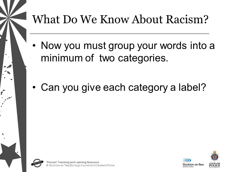 What Do We Know About Racism