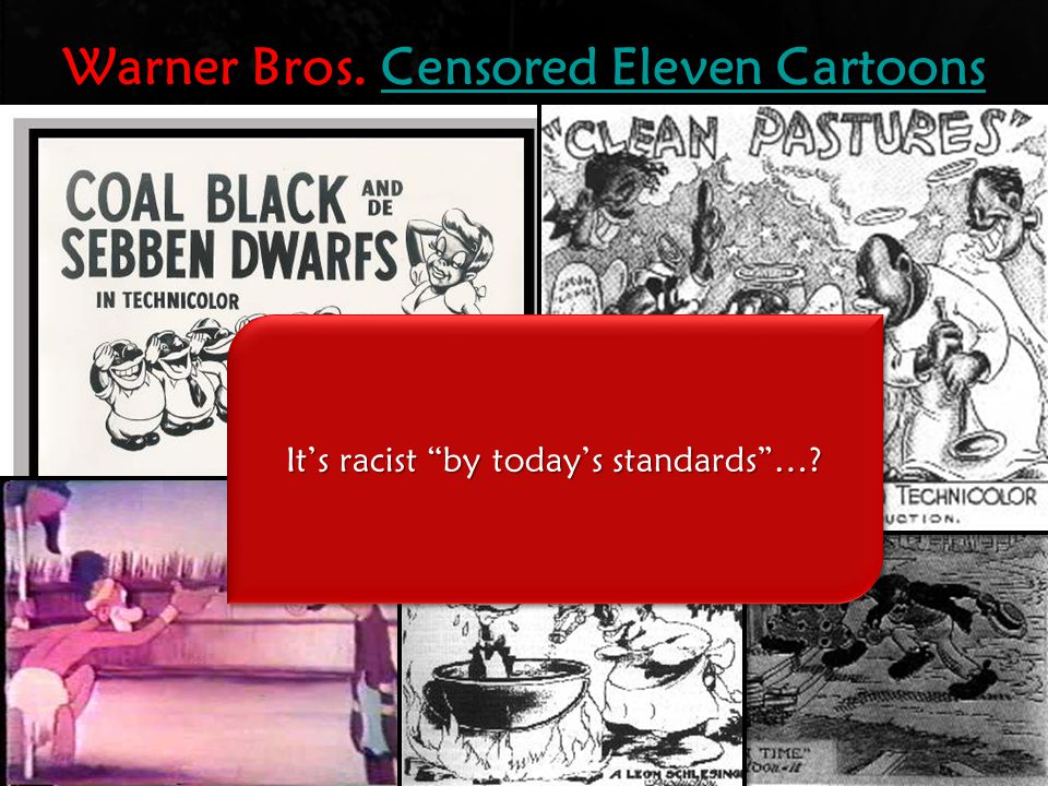 Warner Bros. Censored Eleven Cartoons