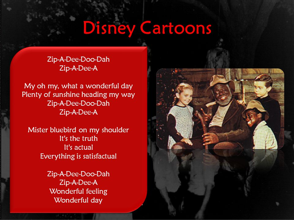 Disney Cartoons Song of the South 1946