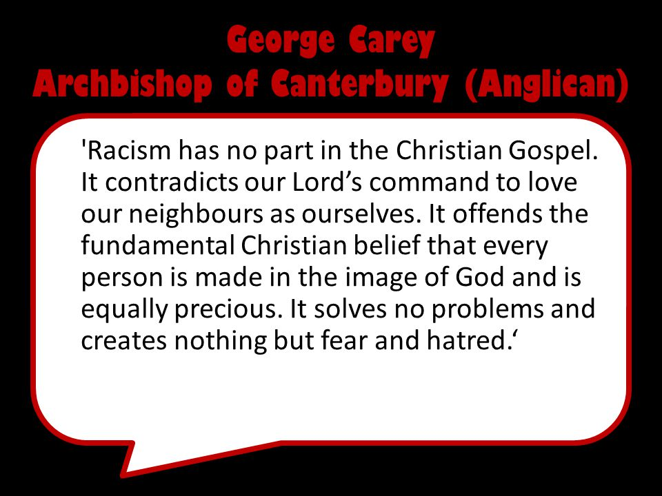 George Carey Archbishop of Canterbury (Anglican)