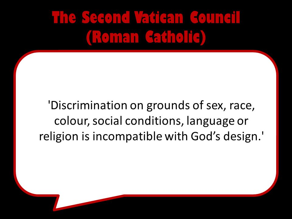 The Second Vatican Council (Roman Catholic)