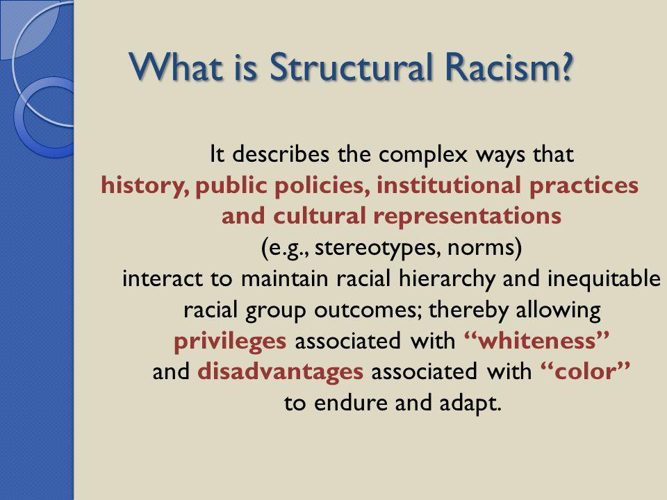 and cultural representations