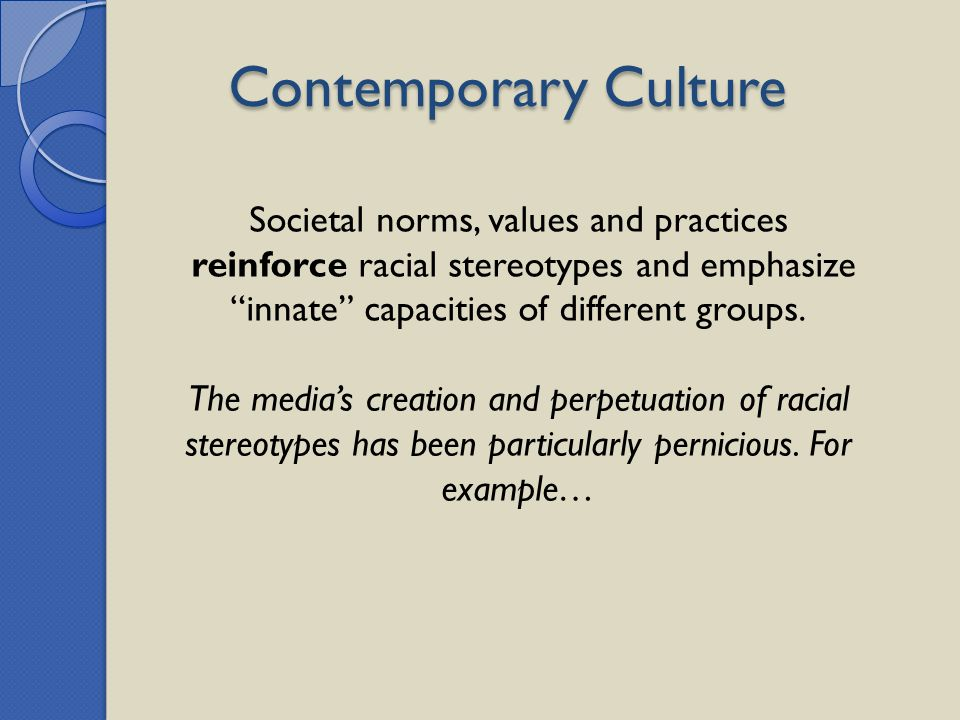 Societal norms, values and practices