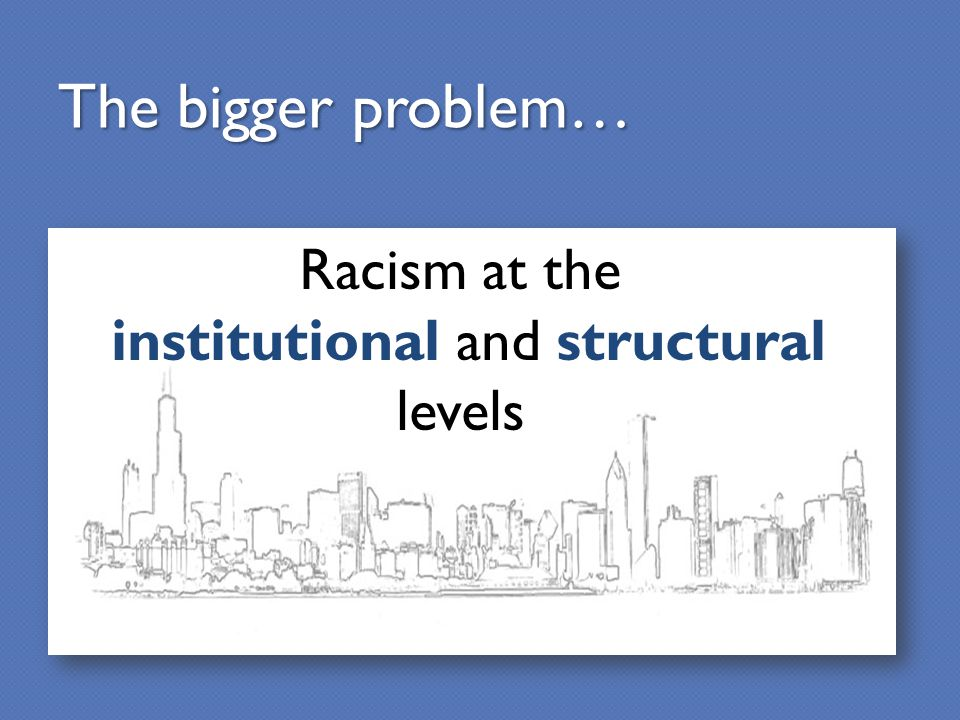 institutional and structural