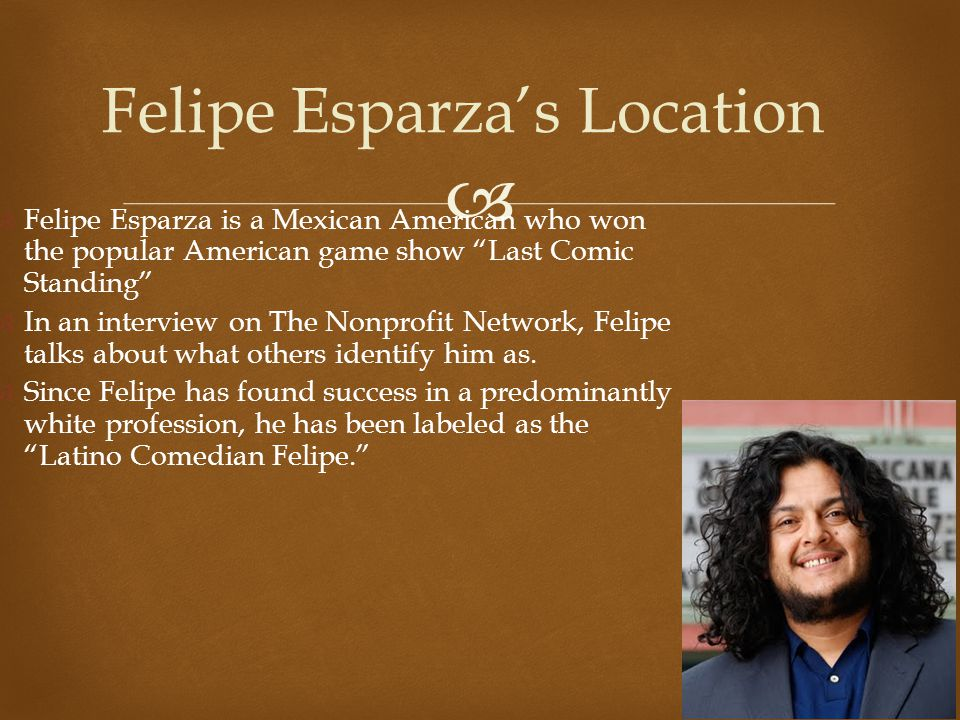 Felipe Esparza's Location