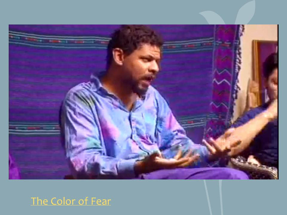 The Color of Fear http://www.youtube.com/watch v=-vAbpJW_xEc