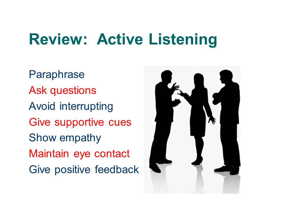 Review: Active Listening
