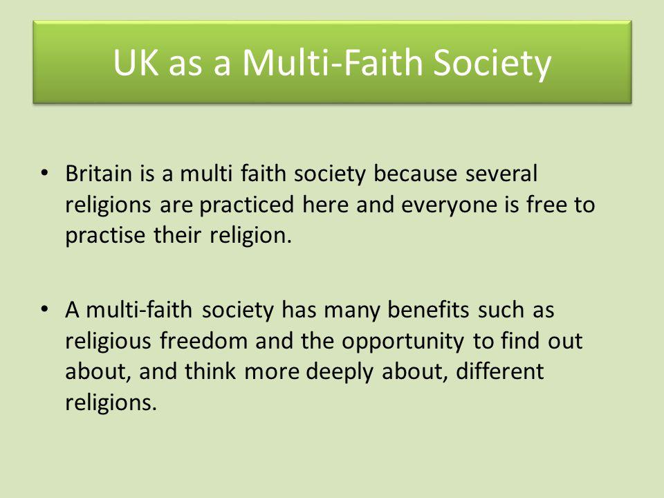 UK as a Multi-Faith Society