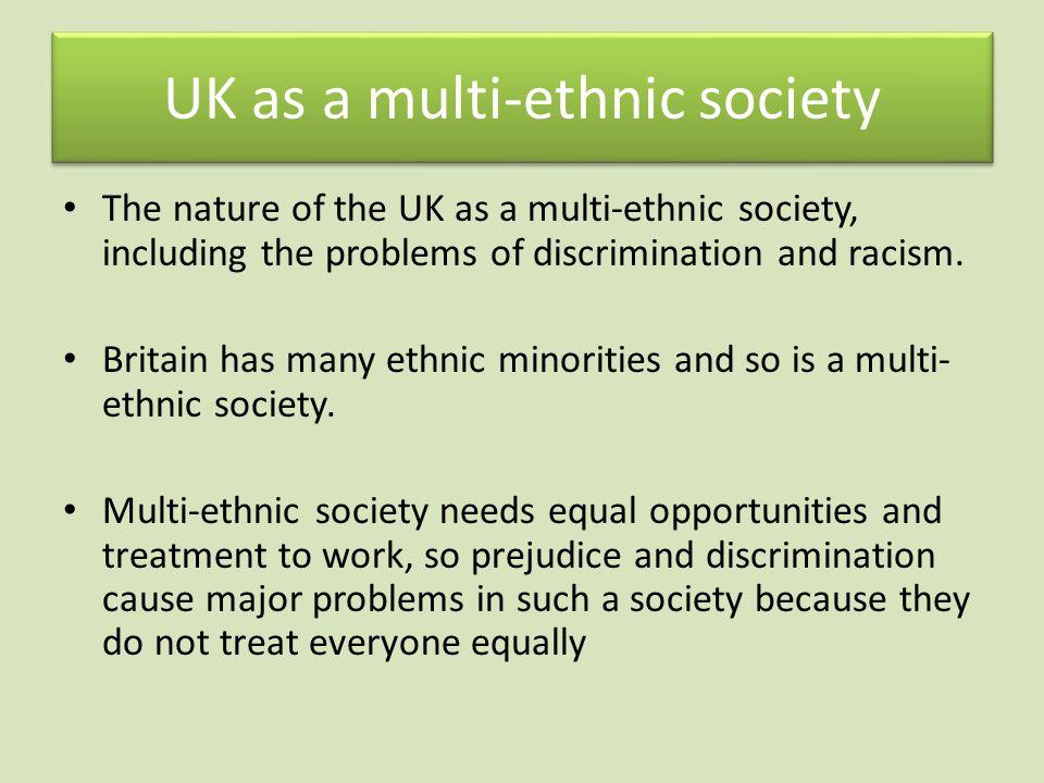 UK as a multi-ethnic society