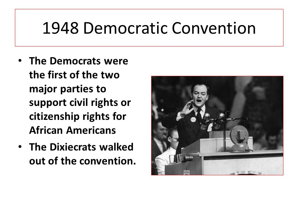 1948 Democratic Convention