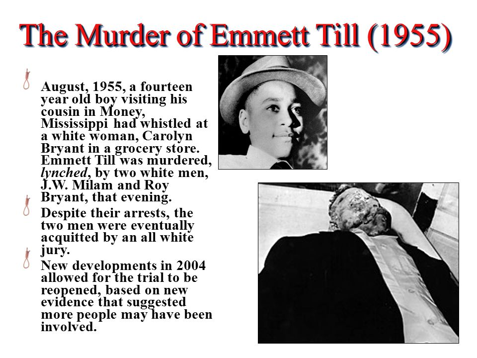 The Murder of Emmett Till (1955)