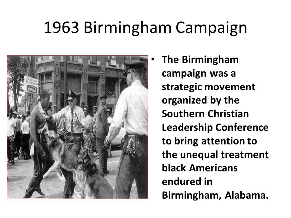 1963 Birmingham Campaign