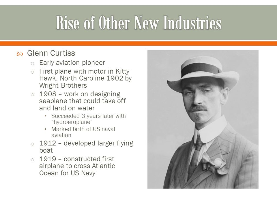 Rise of Other New Industries
