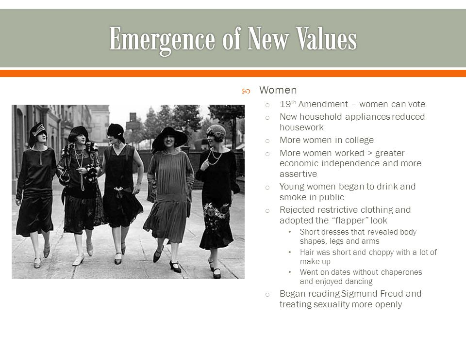 Emergence of New Values