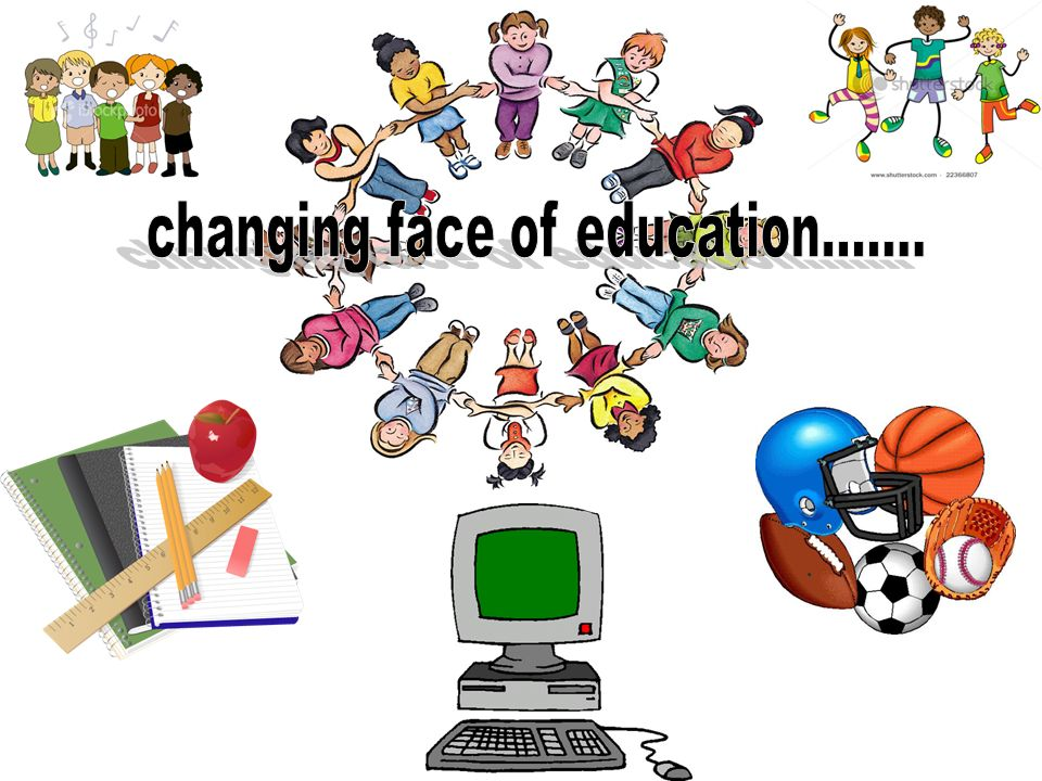 changing face of education.......