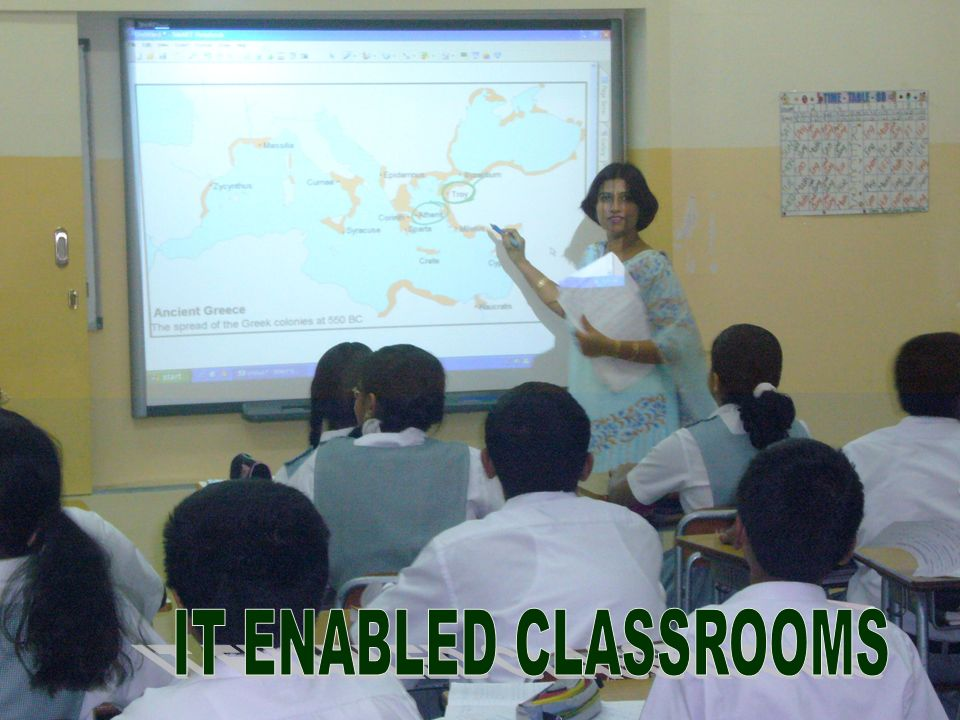 IT ENABLED CLASSROOMS