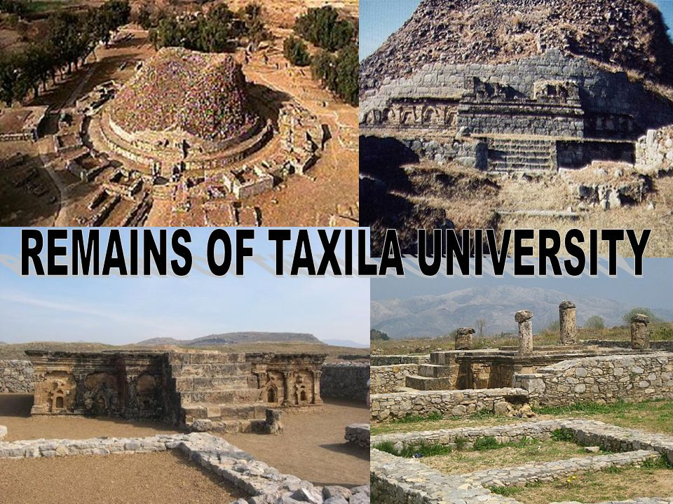 REMAINS OF TAXILA UNIVERSITY