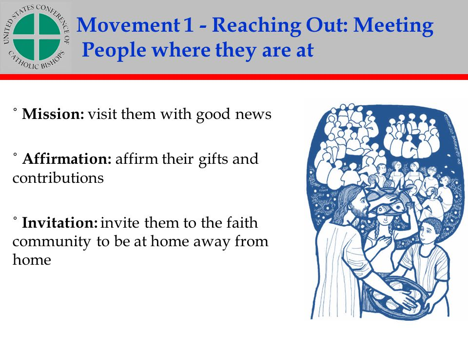 Movement 1 - Reaching Out: Meeting People where they are at