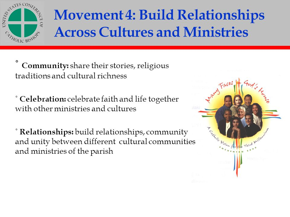 Movement 4: Build Relationships Across Cultures and Ministries