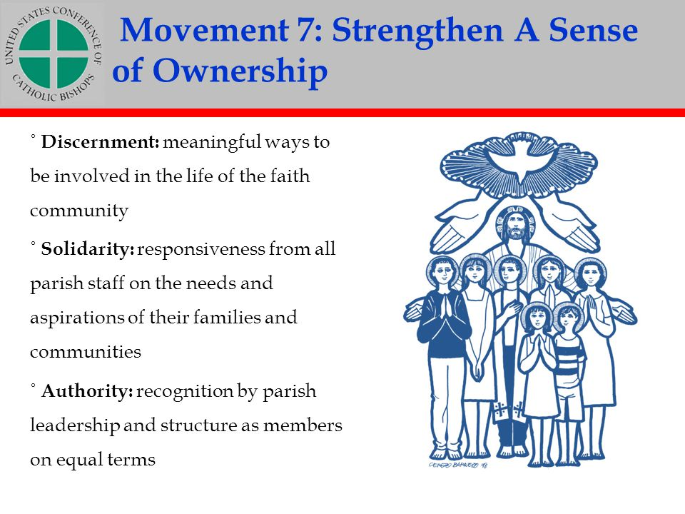 of Ownership Movement 7: Strengthen A Sense