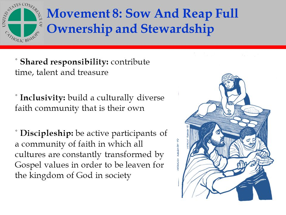 Movement 8: Sow And Reap Full Ownership and Stewardship