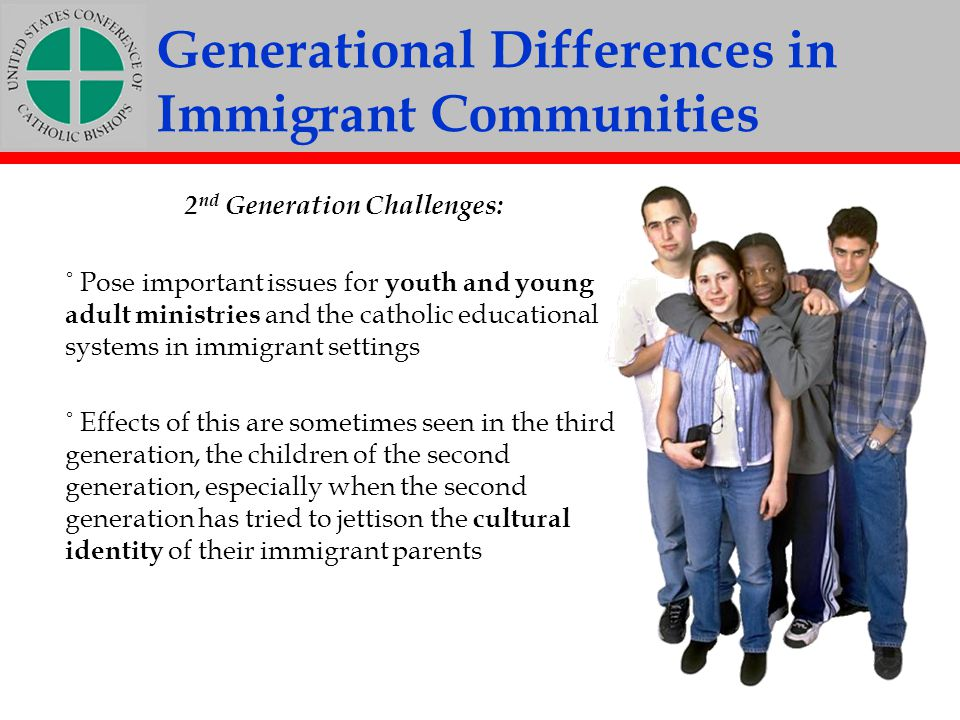 Generational Differences in Immigrant Communities