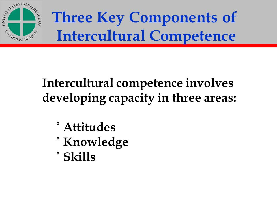 Three Key Components of Intercultural Competence
