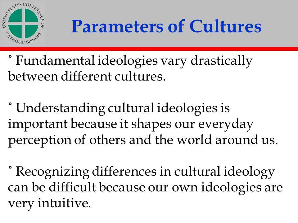 Parameters of Cultures