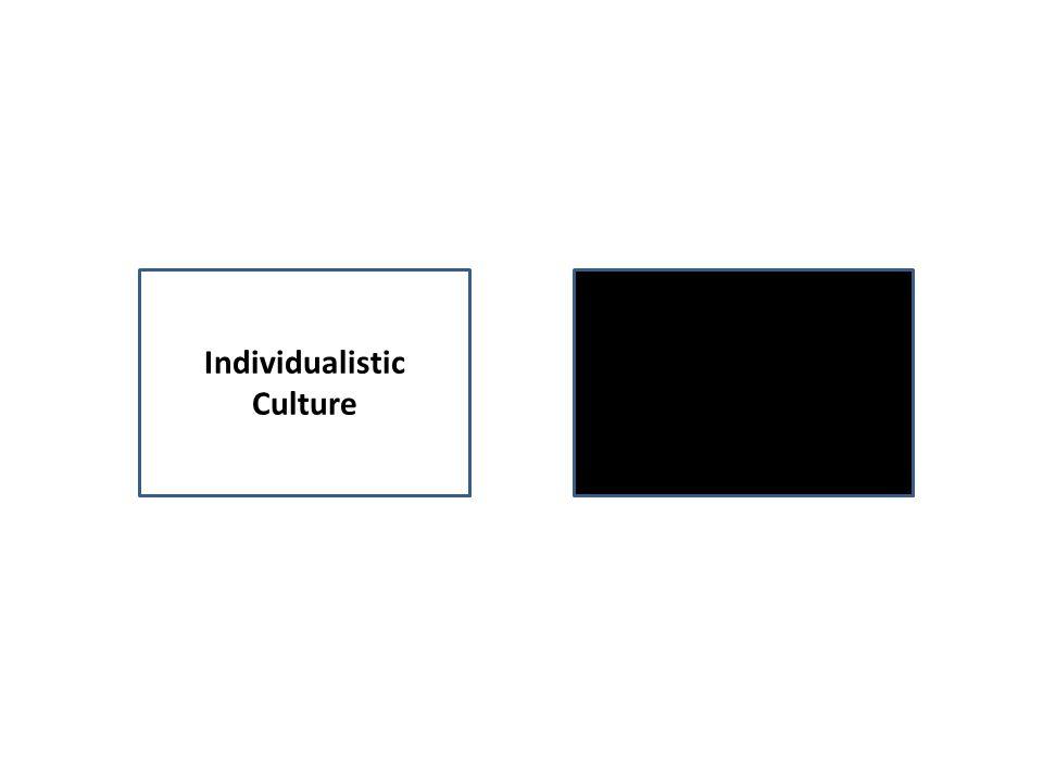 Individualistic Culture