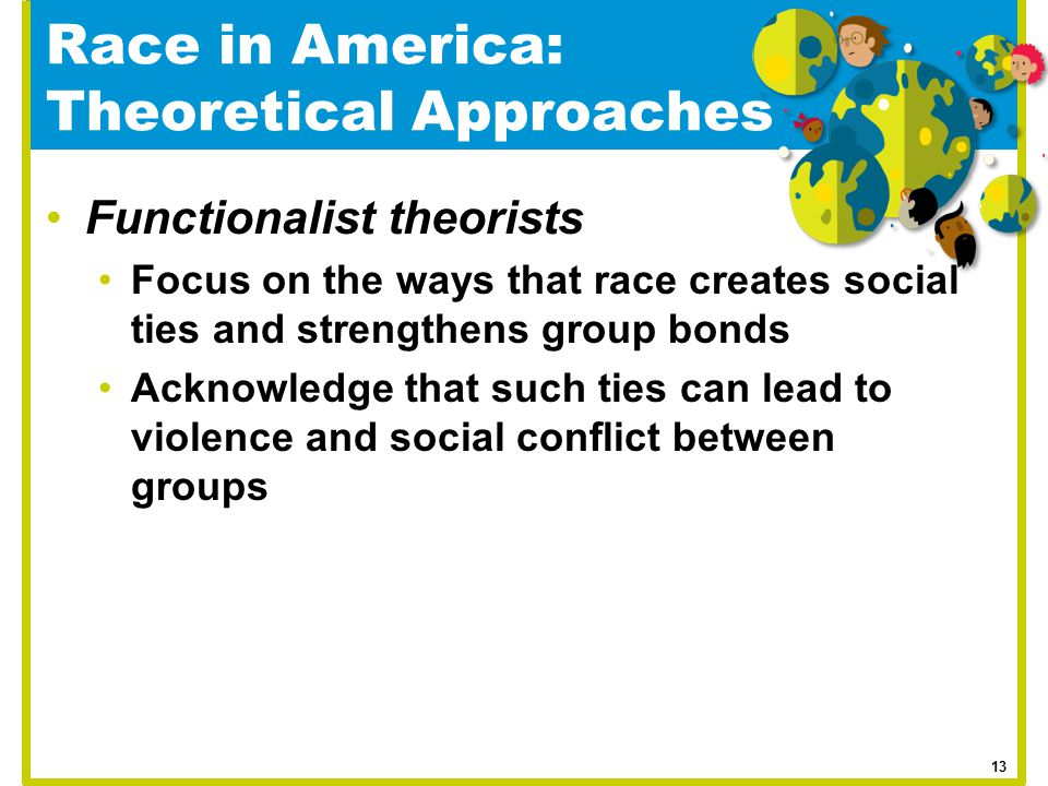 Race in America: Theoretical Approaches