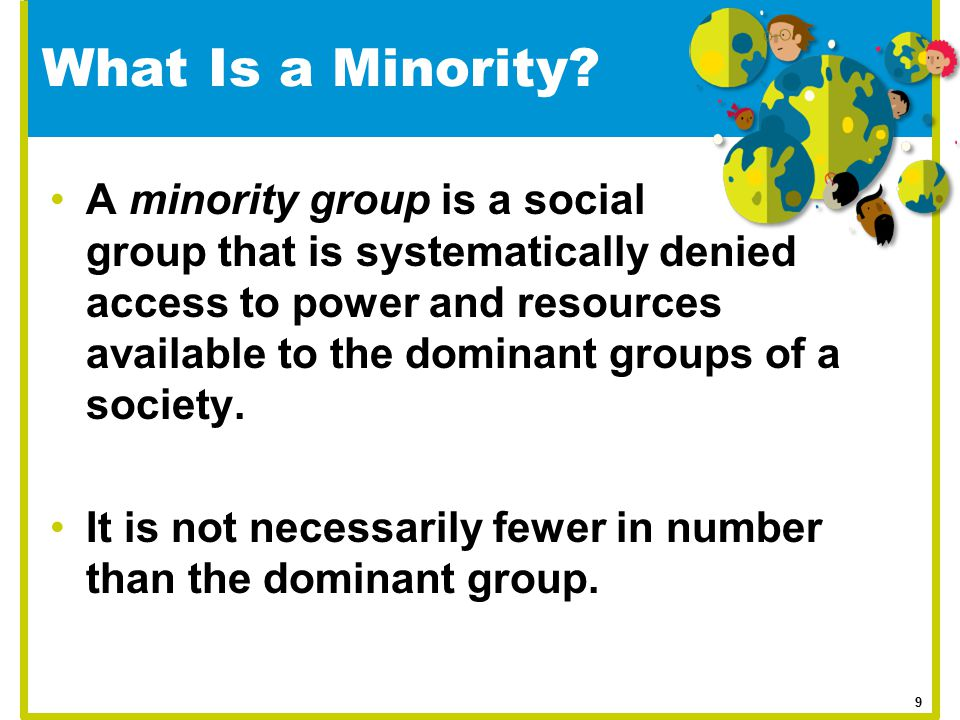 What Is a Minority