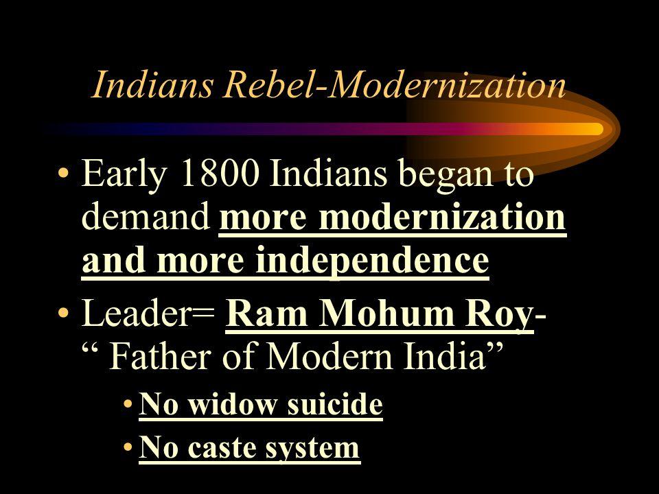 Indians Rebel-Modernization