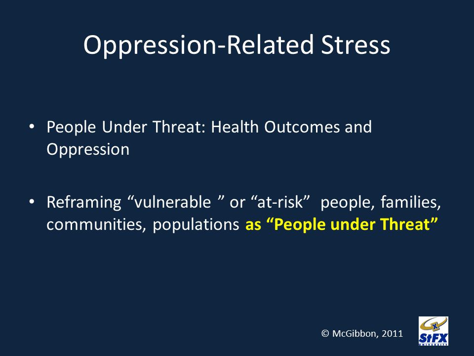 Oppression-Related Stress