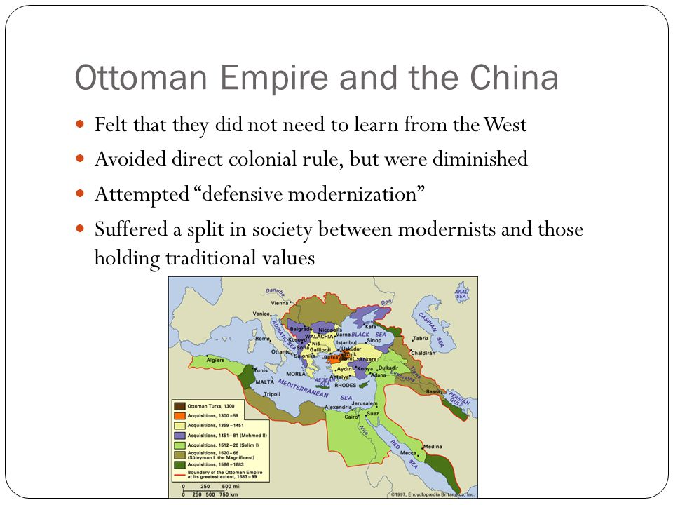 Ottoman Empire and the China