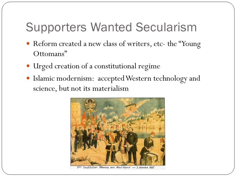 Supporters Wanted Secularism