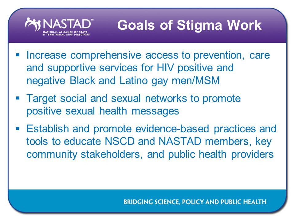 Goals of Stigma Work