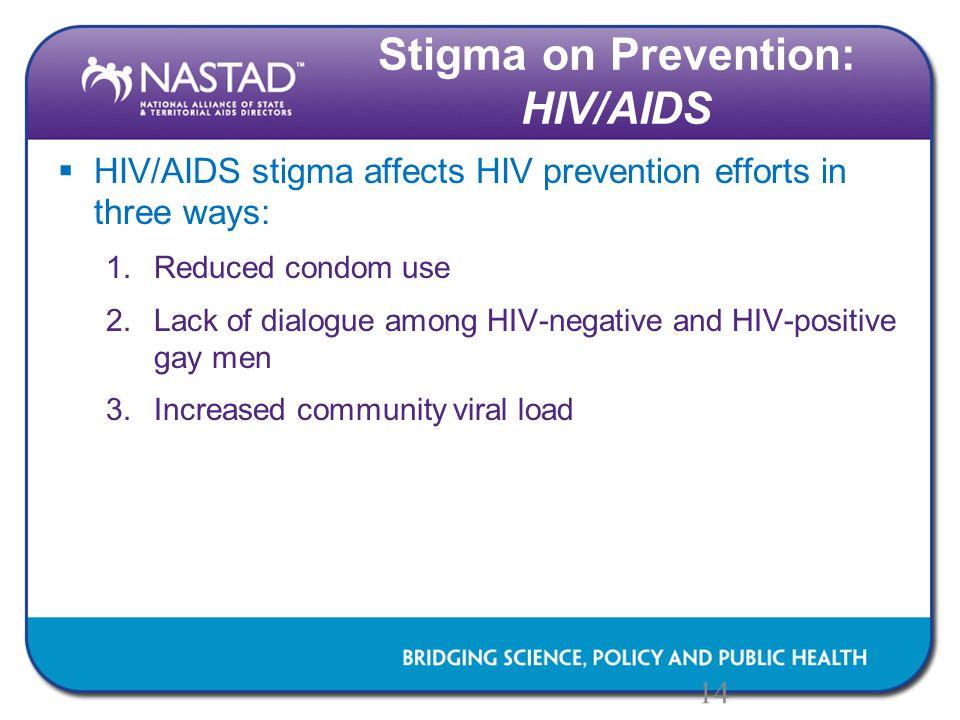 Stigma on Prevention: HIV/AIDS