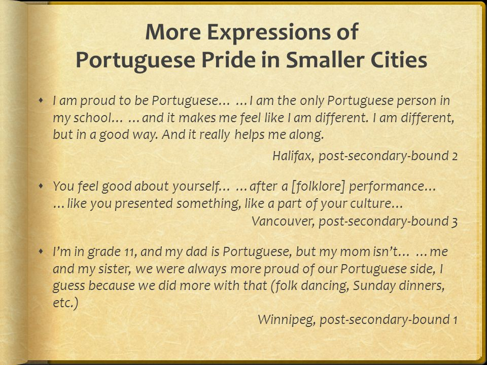 More Expressions of Portuguese Pride in Smaller Cities