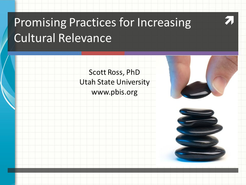 Promising Practices for Increasing Cultural Relevance