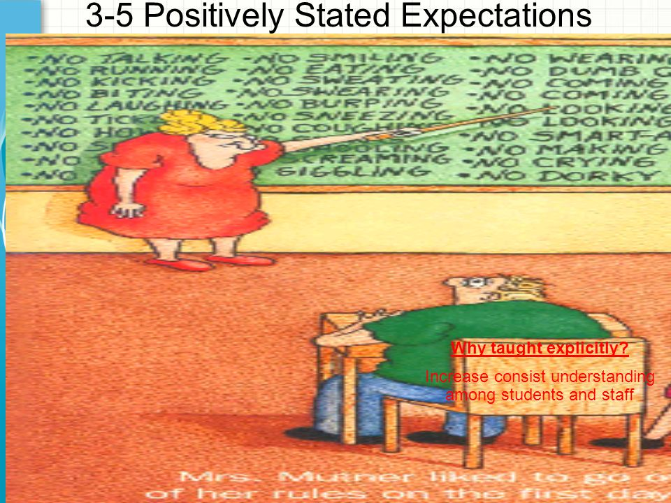 3-5 Positively Stated Expectations