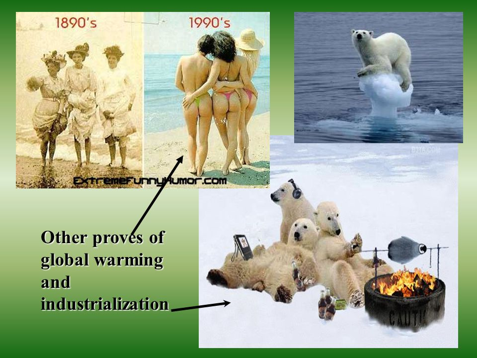 Other proves of global warming and industrialization