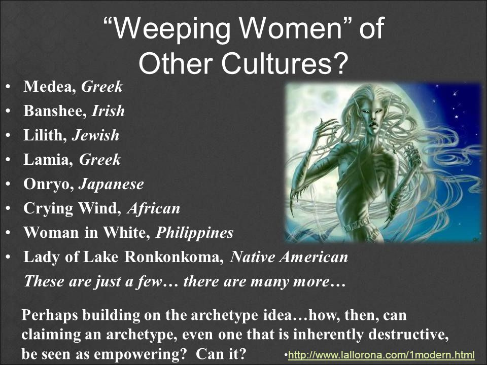 Weeping Women of Other Cultures