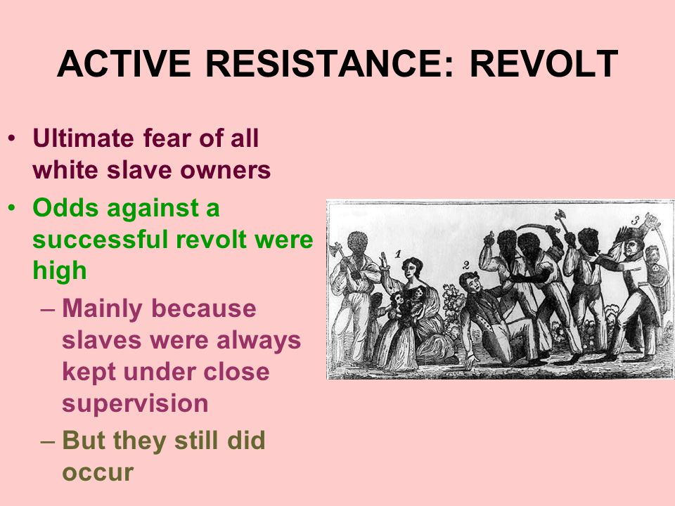 ACTIVE RESISTANCE: REVOLT