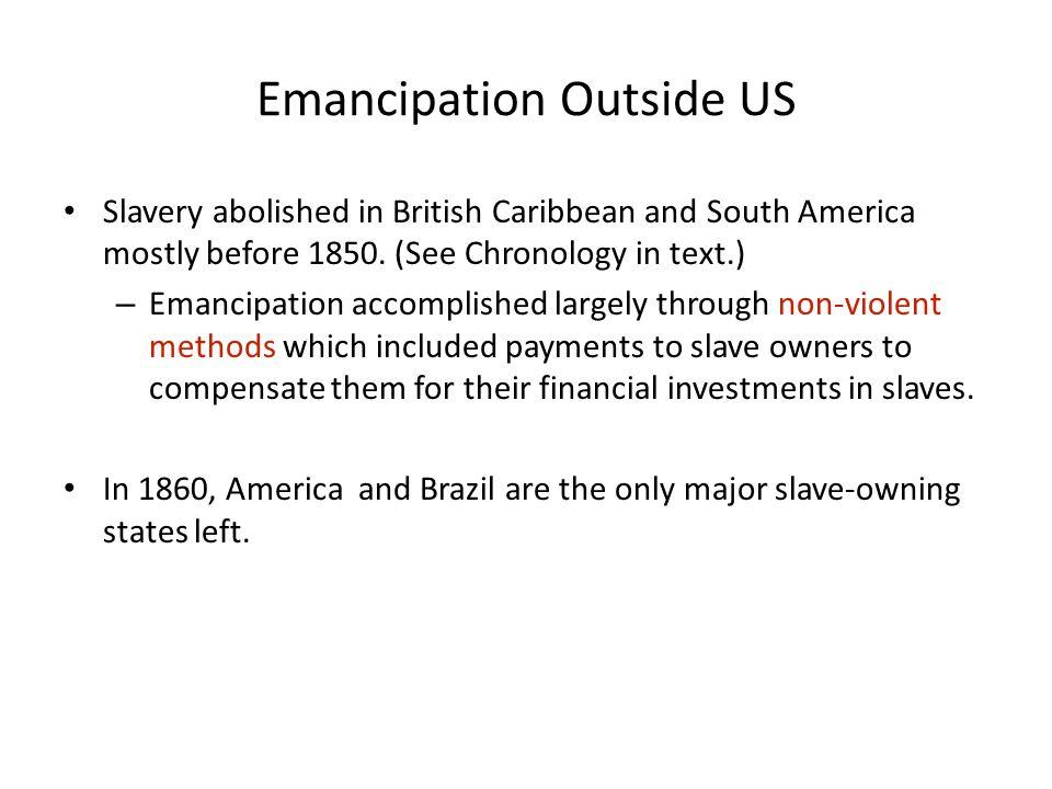 Emancipation Outside US