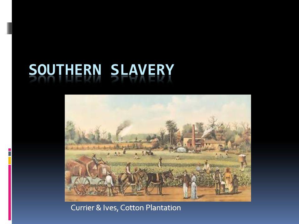 Currier & Ives, Cotton Plantation