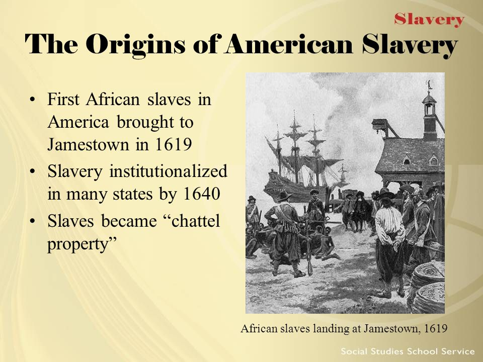 tracing back the history and origins of slavery in america Unlike most editing & proofreading services, we edit for everything: grammar, spelling, punctuation, idea flow, sentence structure, & more get started now.